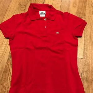 Lacoste two button classic polo. USA size 36